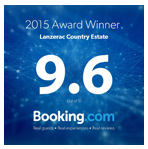 Booking.com Award for Lanzerac Country Estate