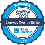 Stellar Stays Award 2015 for Lanzerac Country Estate
