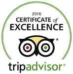 TripAdvisor Certificate of Excellence for Lanzerac Country Estate